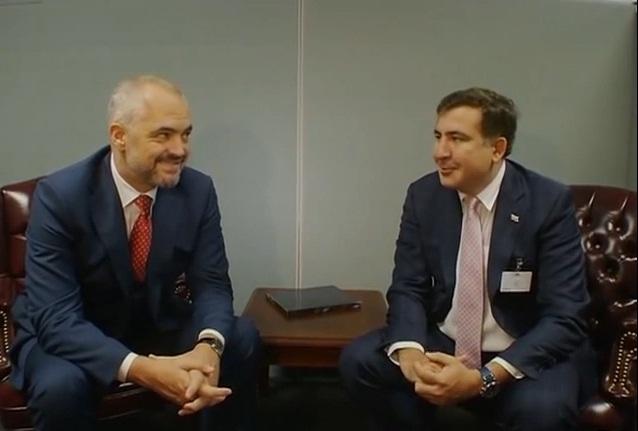 Kryeministri shqiptar kërkon këshilla nga Saakashvili i Gjeorgjisë.