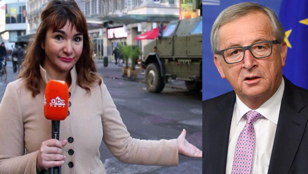 Gazetarja Erisa Zykaj konteston sjelljen e padenjë të zotit Junker ndaj mediave evropiane.