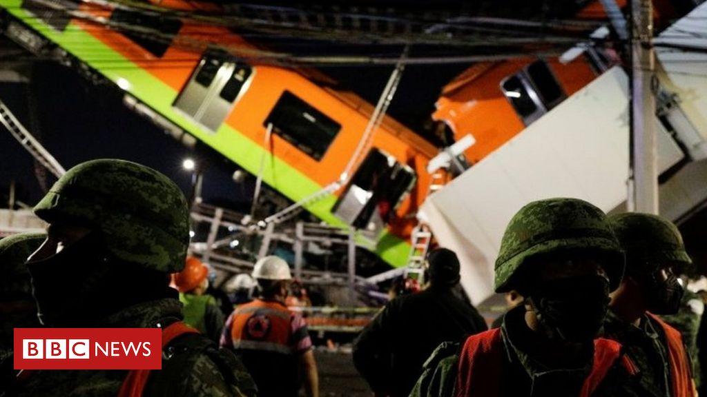 Shembet mbikalimi i metrosë në Mexico City, vriten 23 persona